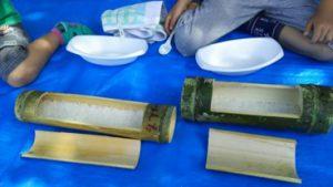 竹で炊いたご飯