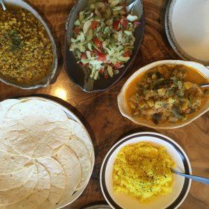 インド菜食カレー