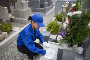 墓掃除代行サービス