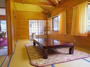 神郷三室農村交流体験施設の和室