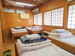 神郷温泉野外活動センターお部屋