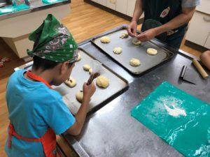 米粉パン作りスタート