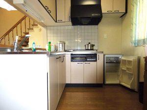 カルスト山荘キッチン
