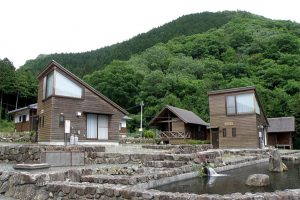 哲西干子農村リゾート外観
