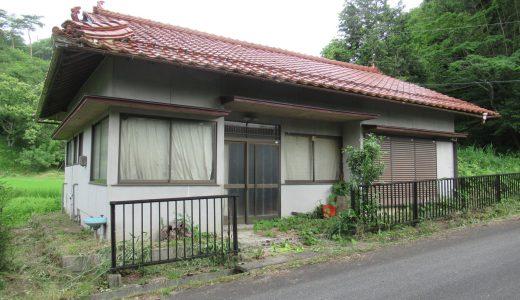 薪風呂でゆったり、コンパクトな田舎暮らしができる家(No.139 哲西町畑木)