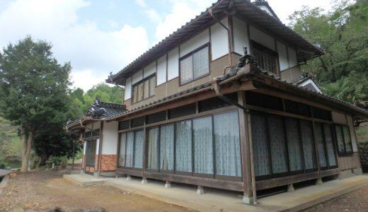 生活に便利な田舎環境。リノベーションしたい方にオススメの家(No.156 新見市下熊谷)